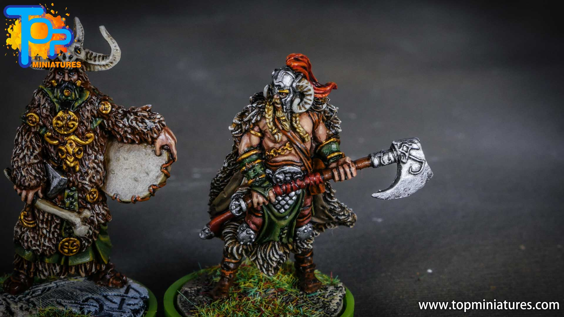 Blood rage painted ram clan (11)