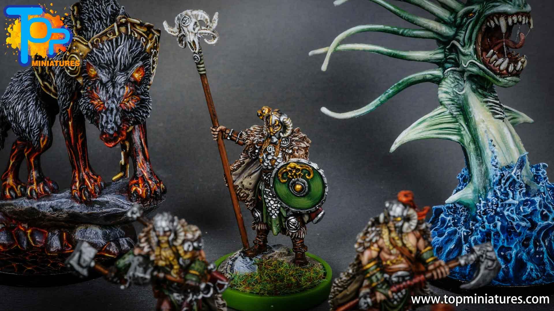 Blood rage painted ram clan (4)