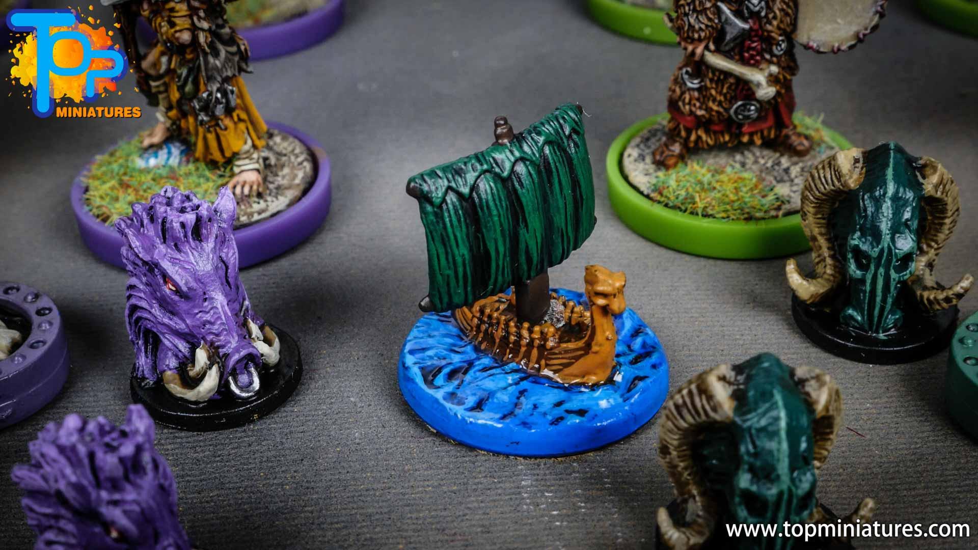 Blood rage painted ram clan (6)