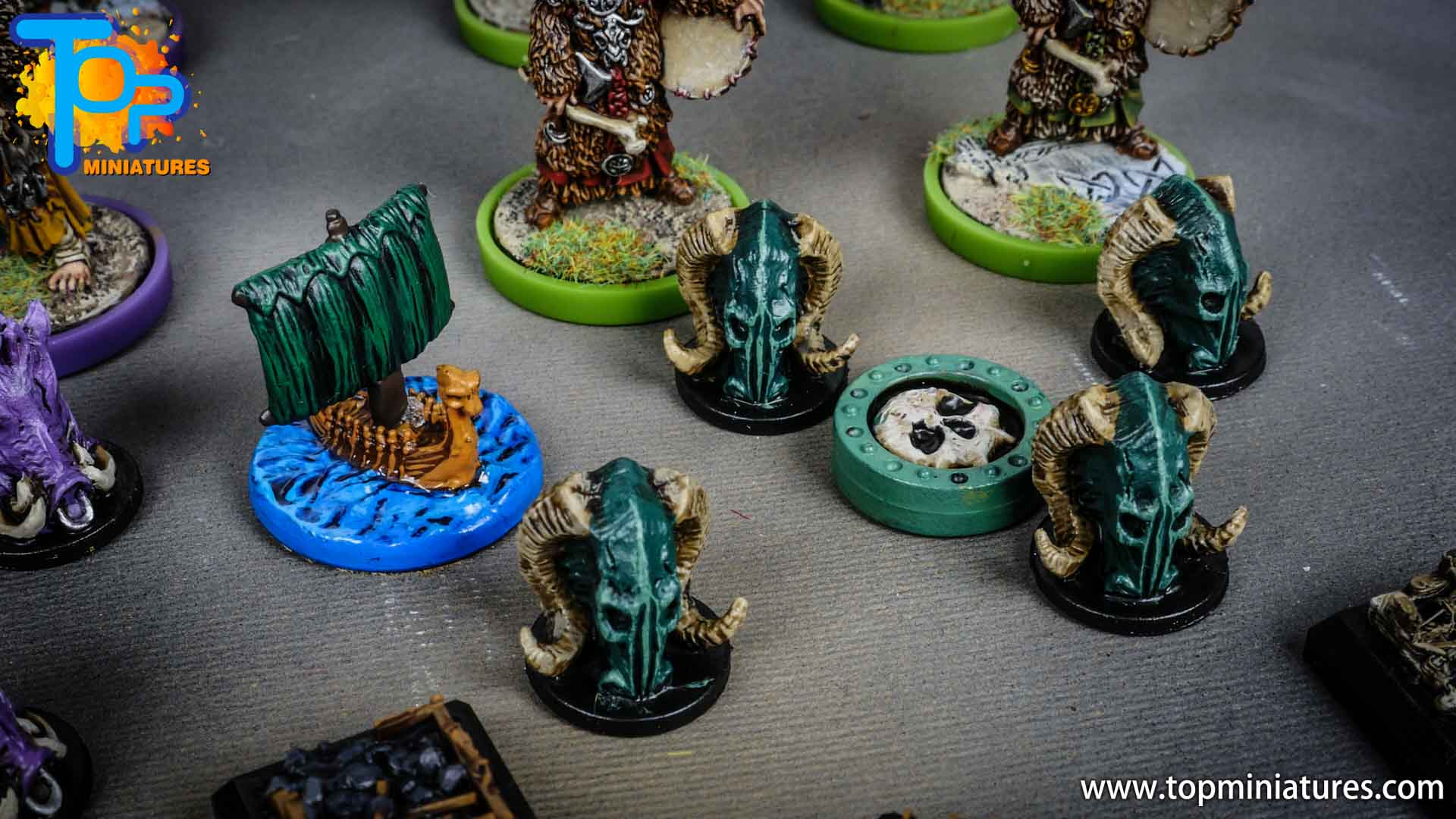 Blood rage painted ram clan (7)