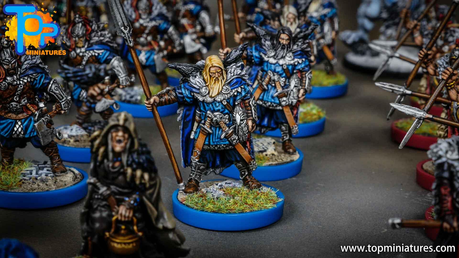 Blood rage painted raven clan (10)