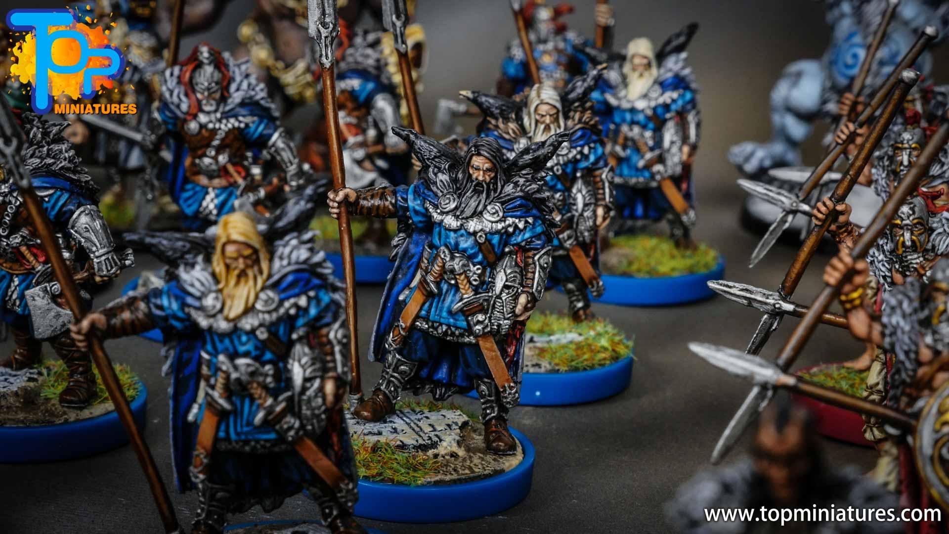 Blood rage painted raven clan (11)