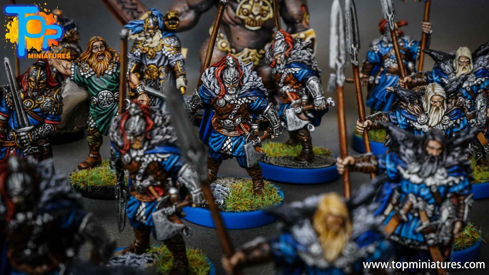 Blood rage painted raven clan (12)