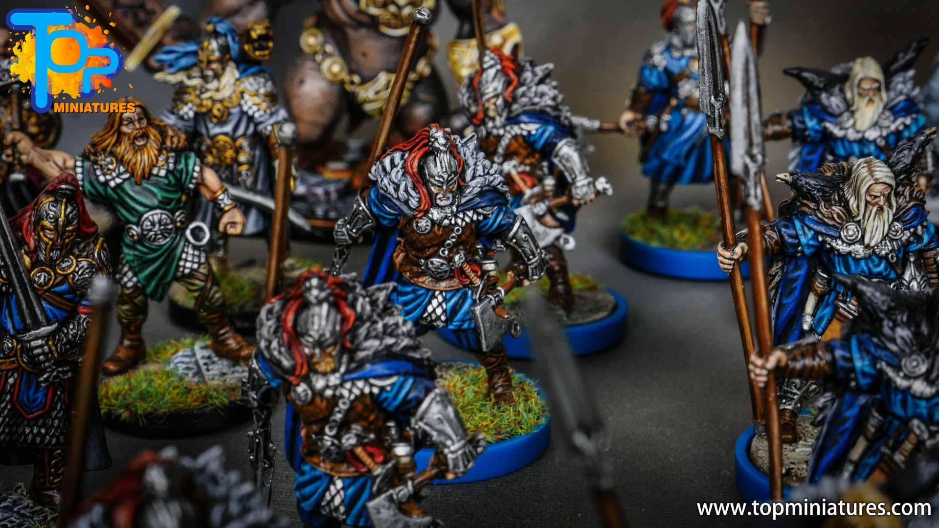 Blood rage painted raven clan (13)