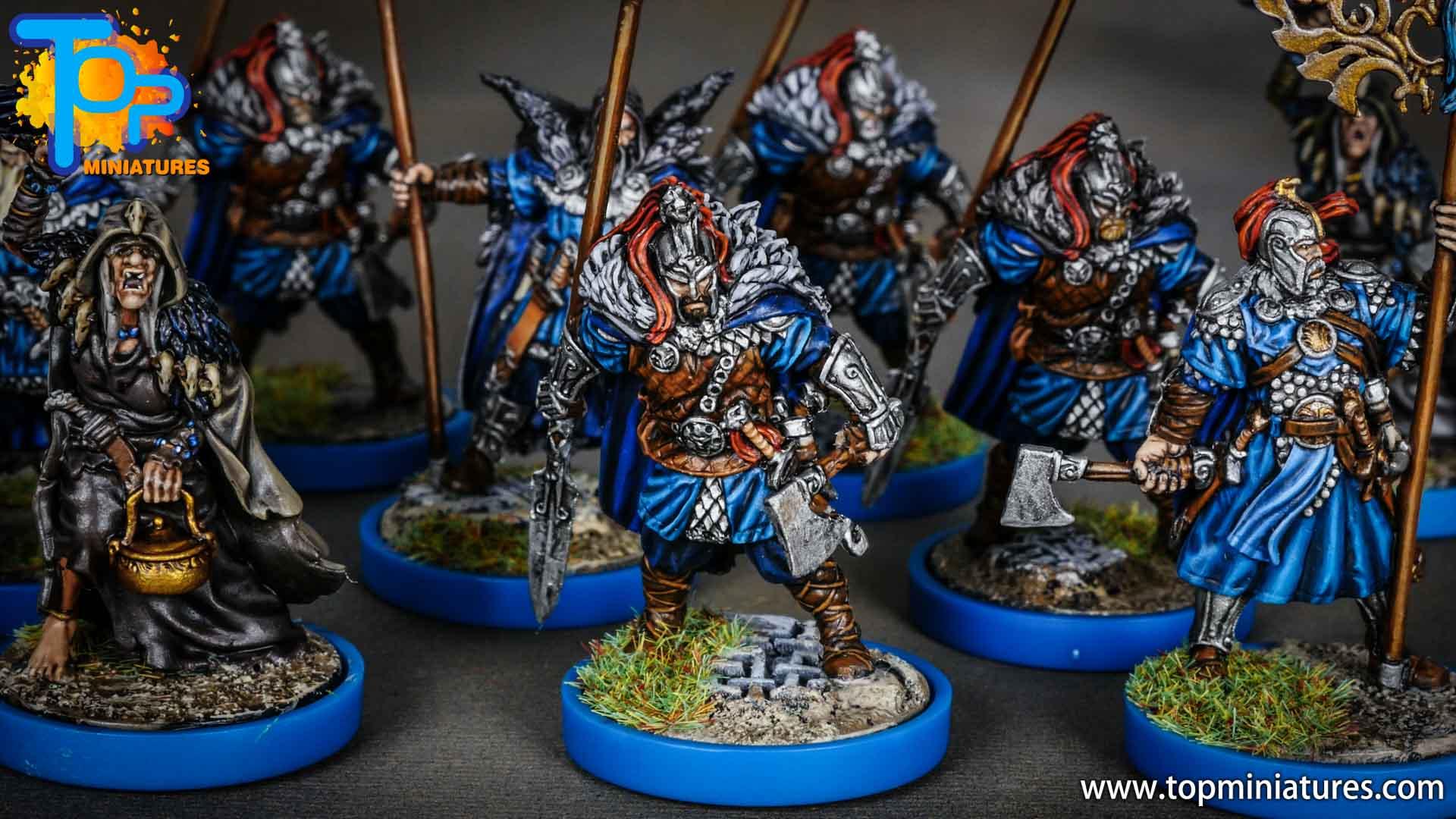 Blood rage painted raven clan (2)