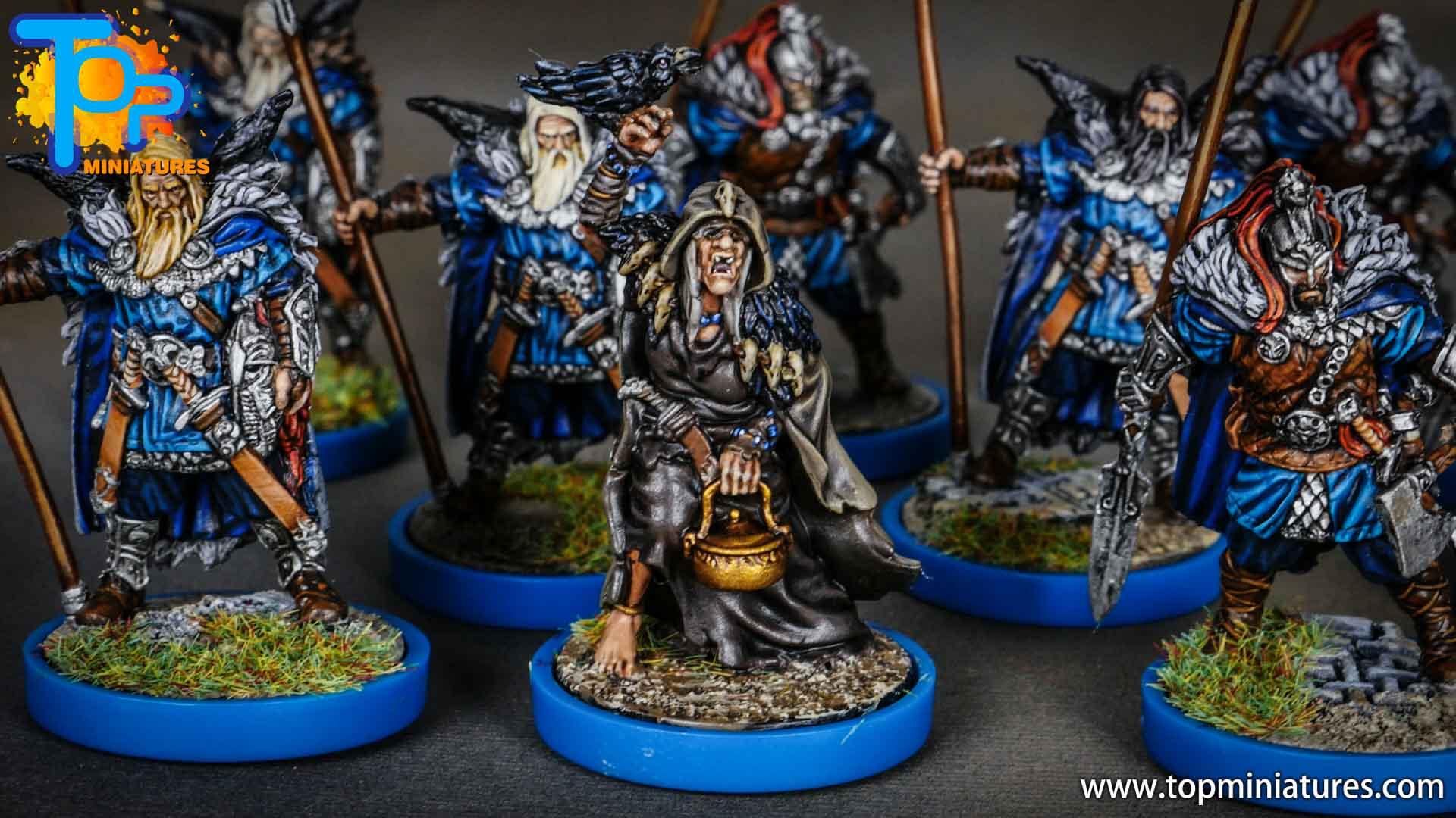 Blood rage painted raven clan (4)