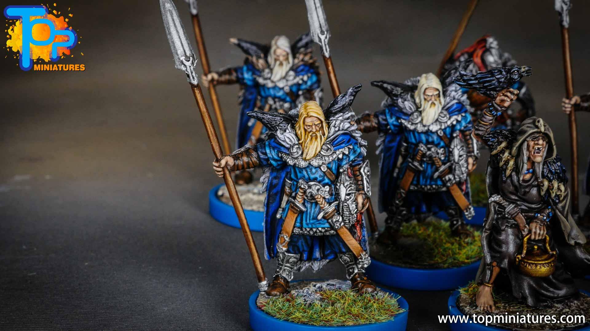 Blood rage painted raven clan (5)