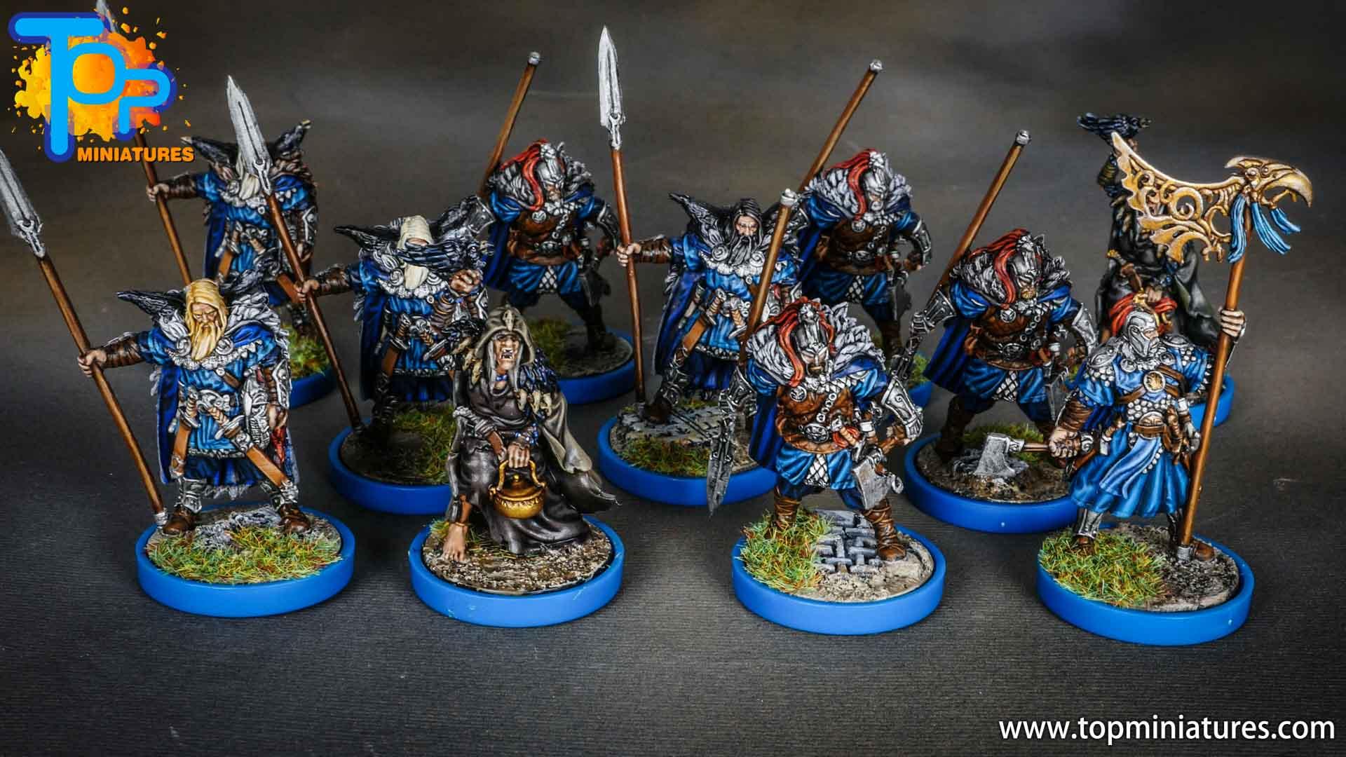 Blood rage painted raven clan (6)