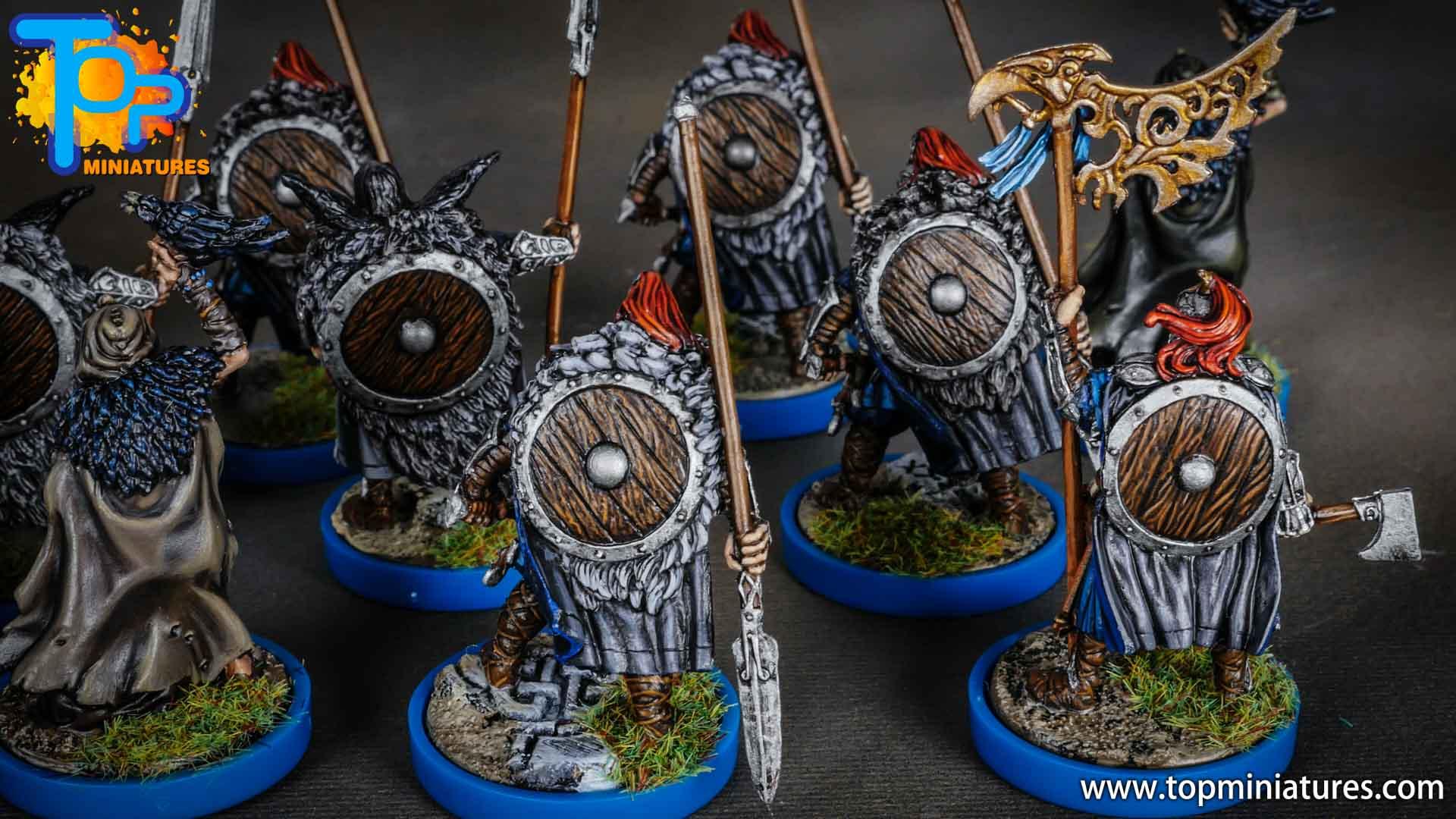 Blood rage painted raven clan (7)