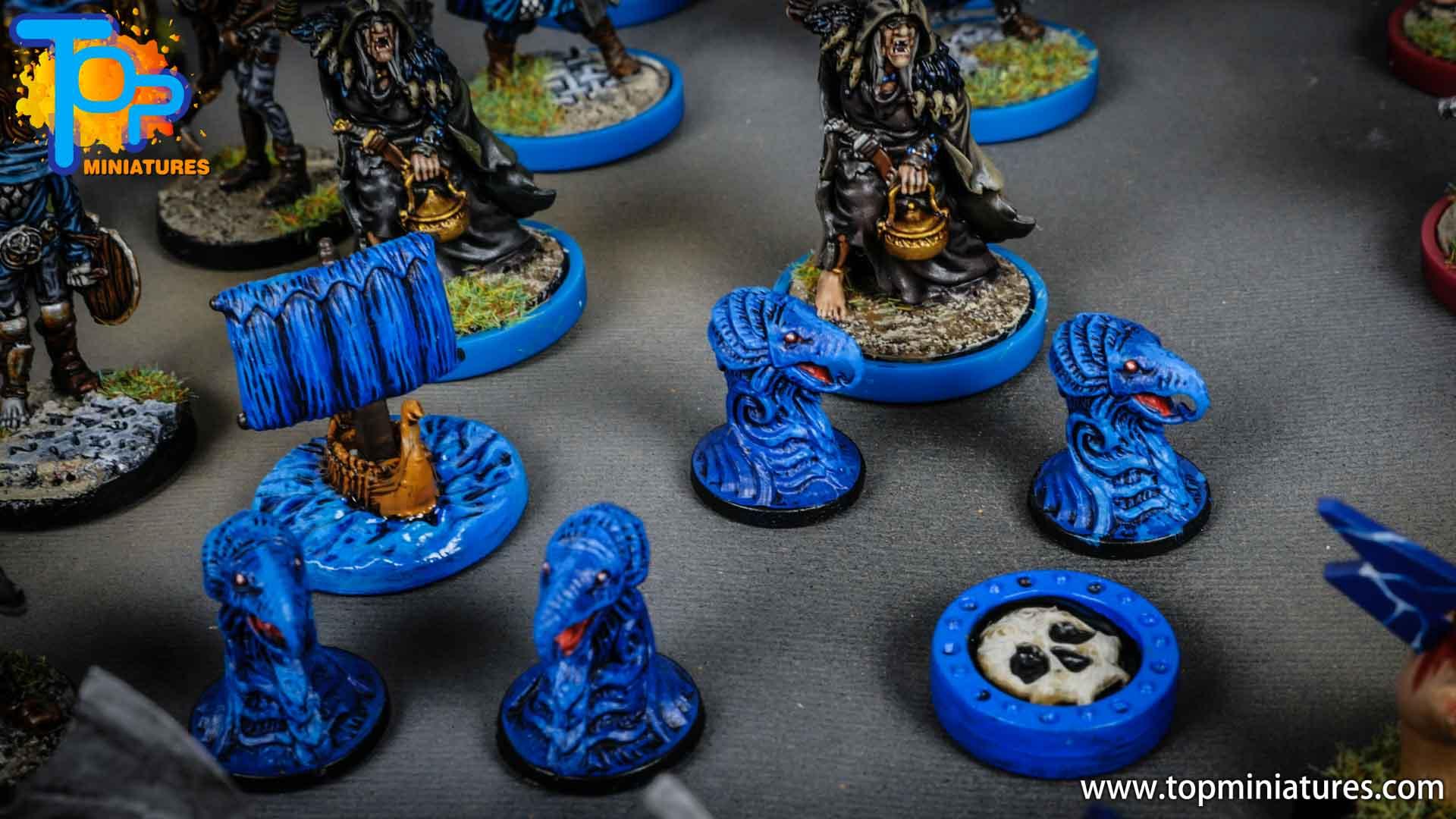 Blood rage painted raven clan (8)