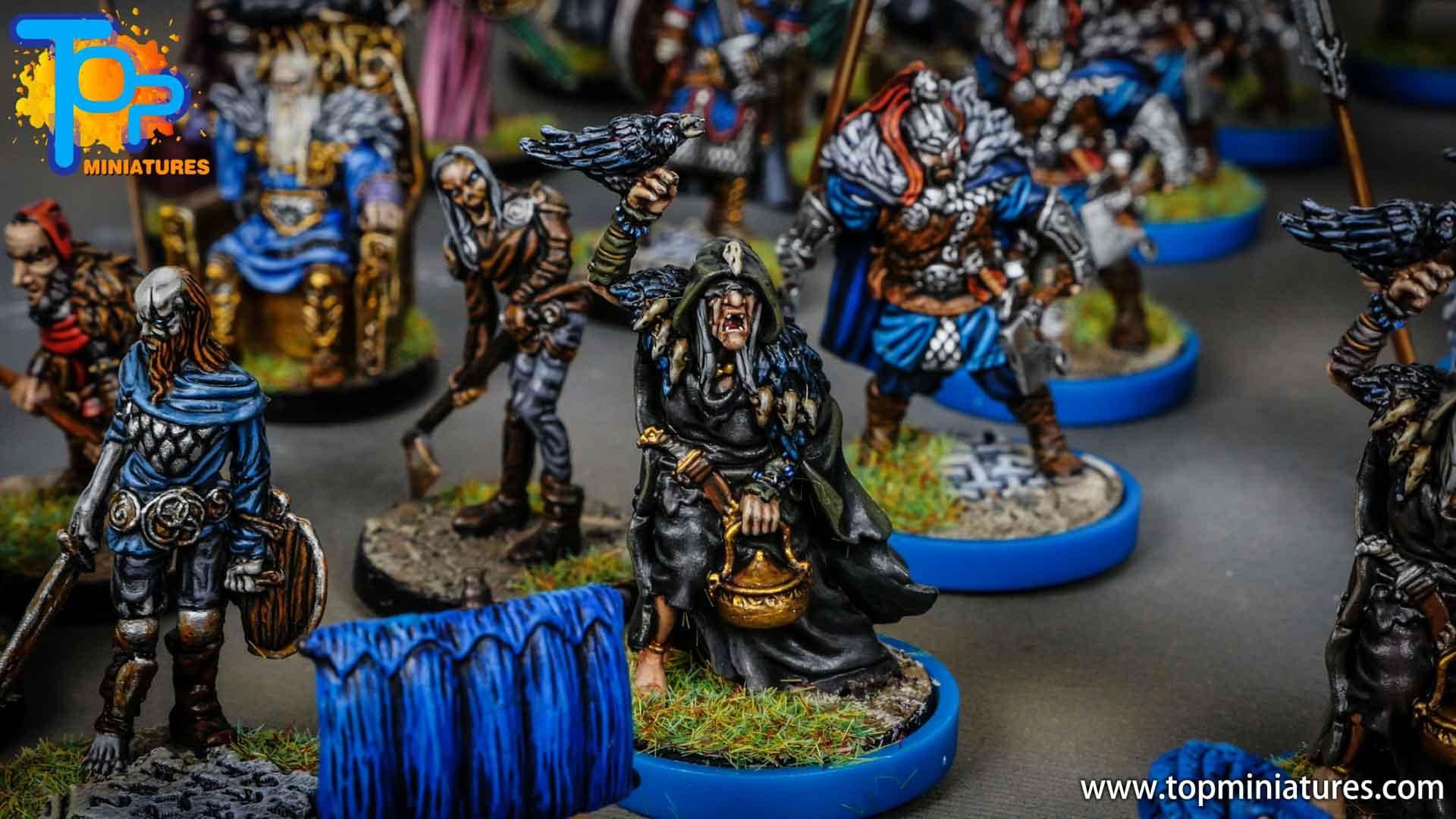Blood rage painted raven clan (9)