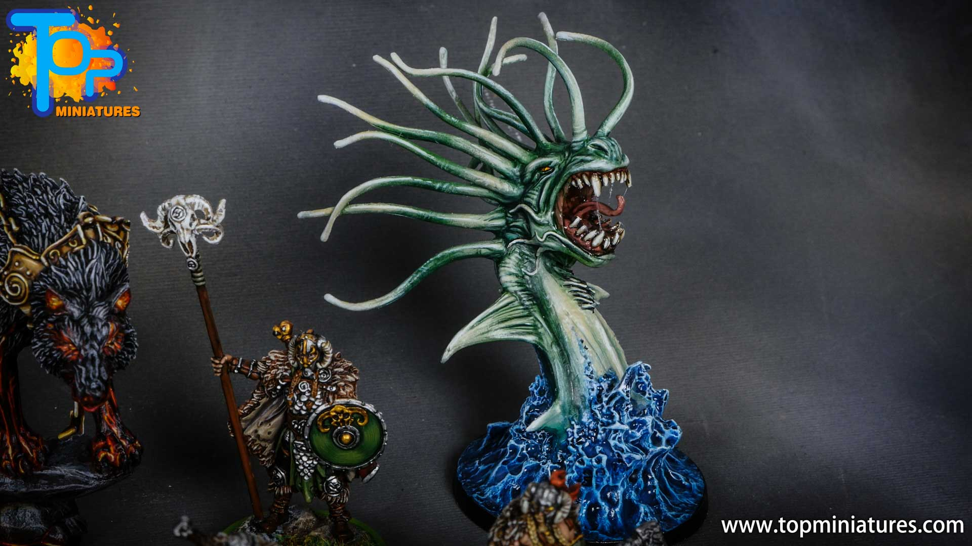 Blood rage painted sea serpent (2)