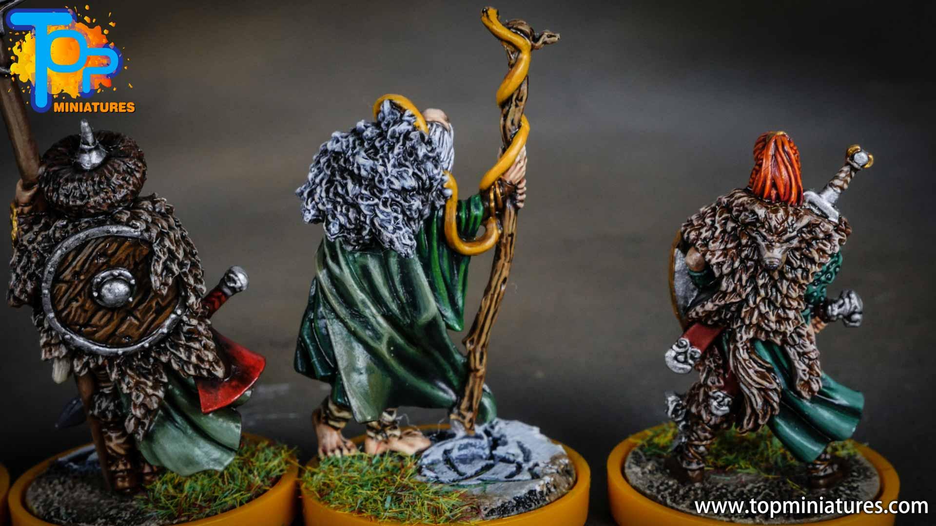 Blood rage painted serpent clan (1)