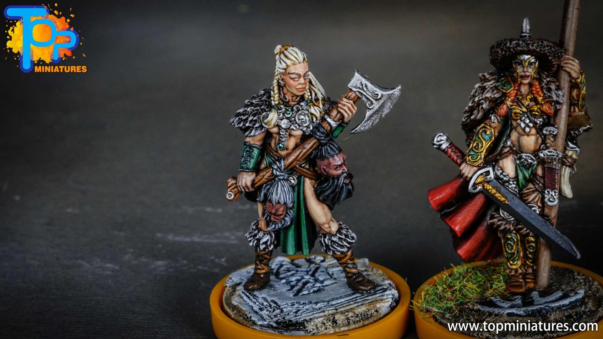 Blood rage painted serpent clan (11)