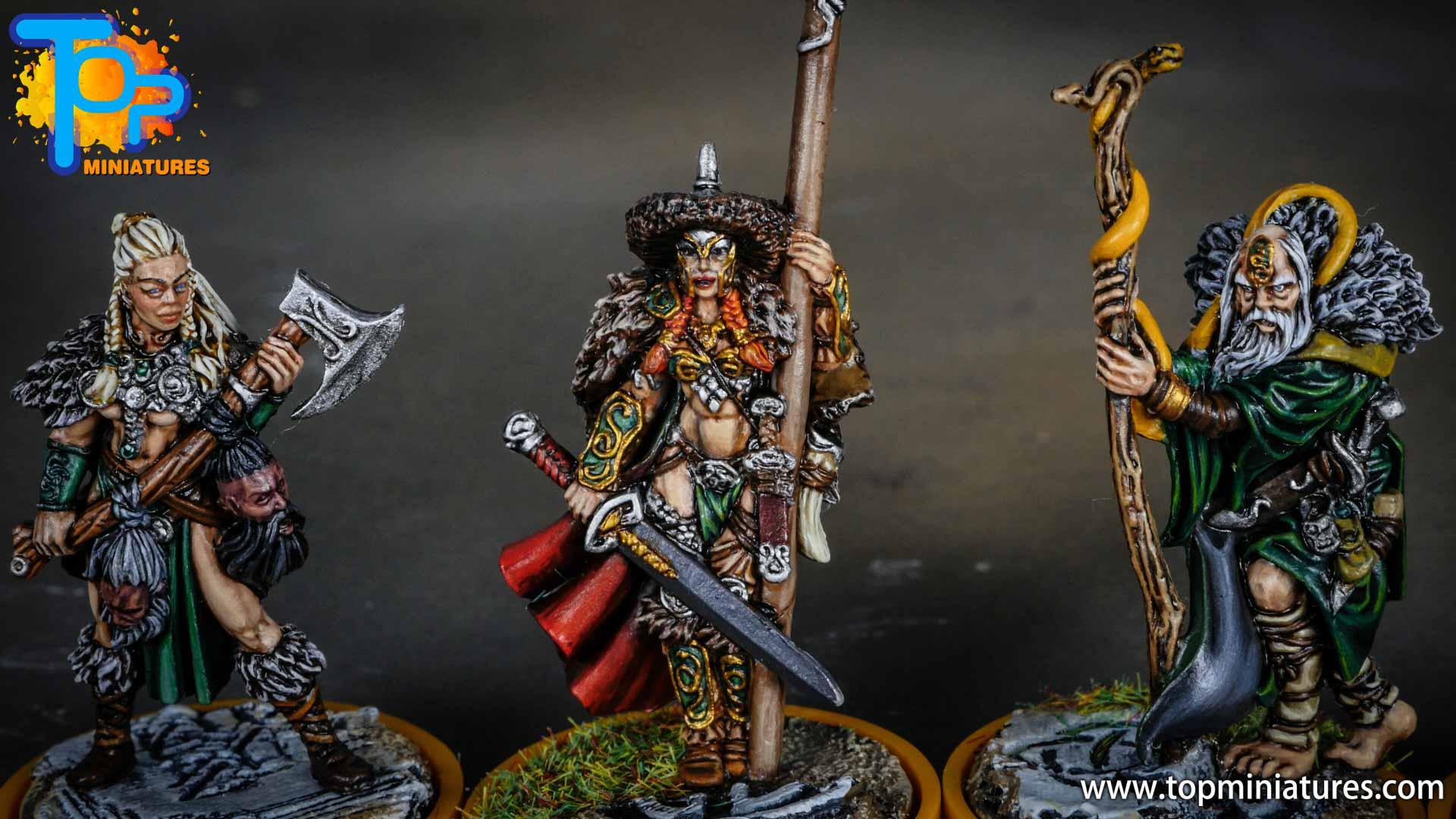 Blood rage painted serpent clan (12)