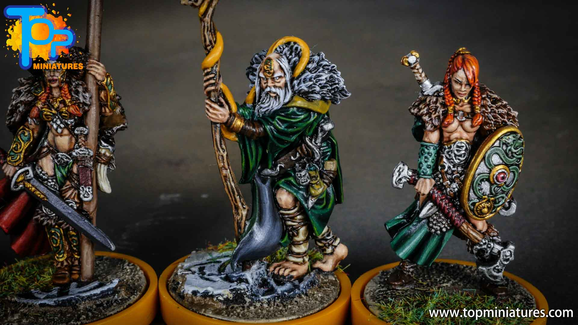 Blood rage painted serpent clan (13)