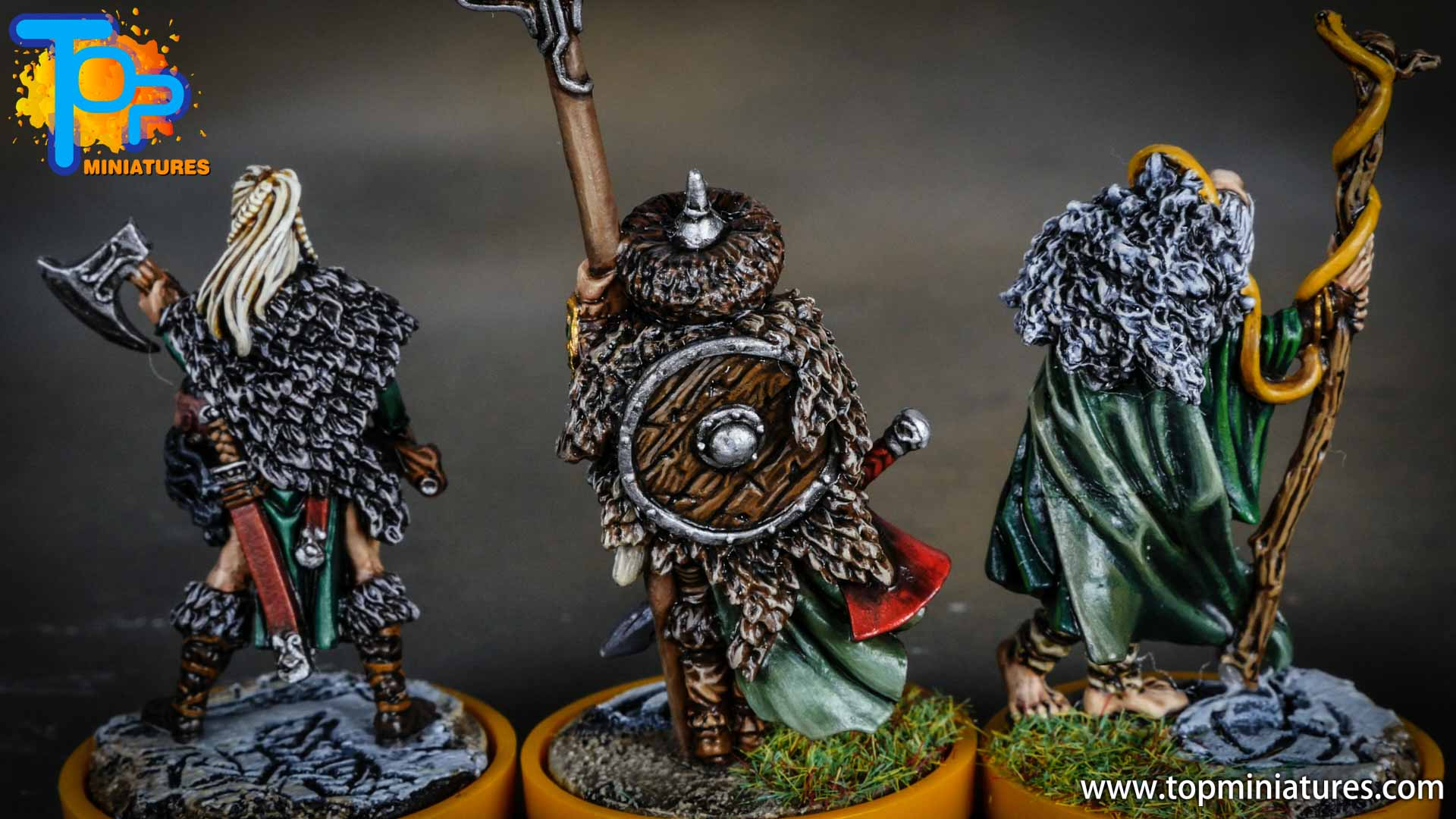 Blood rage painted serpent clan (14)