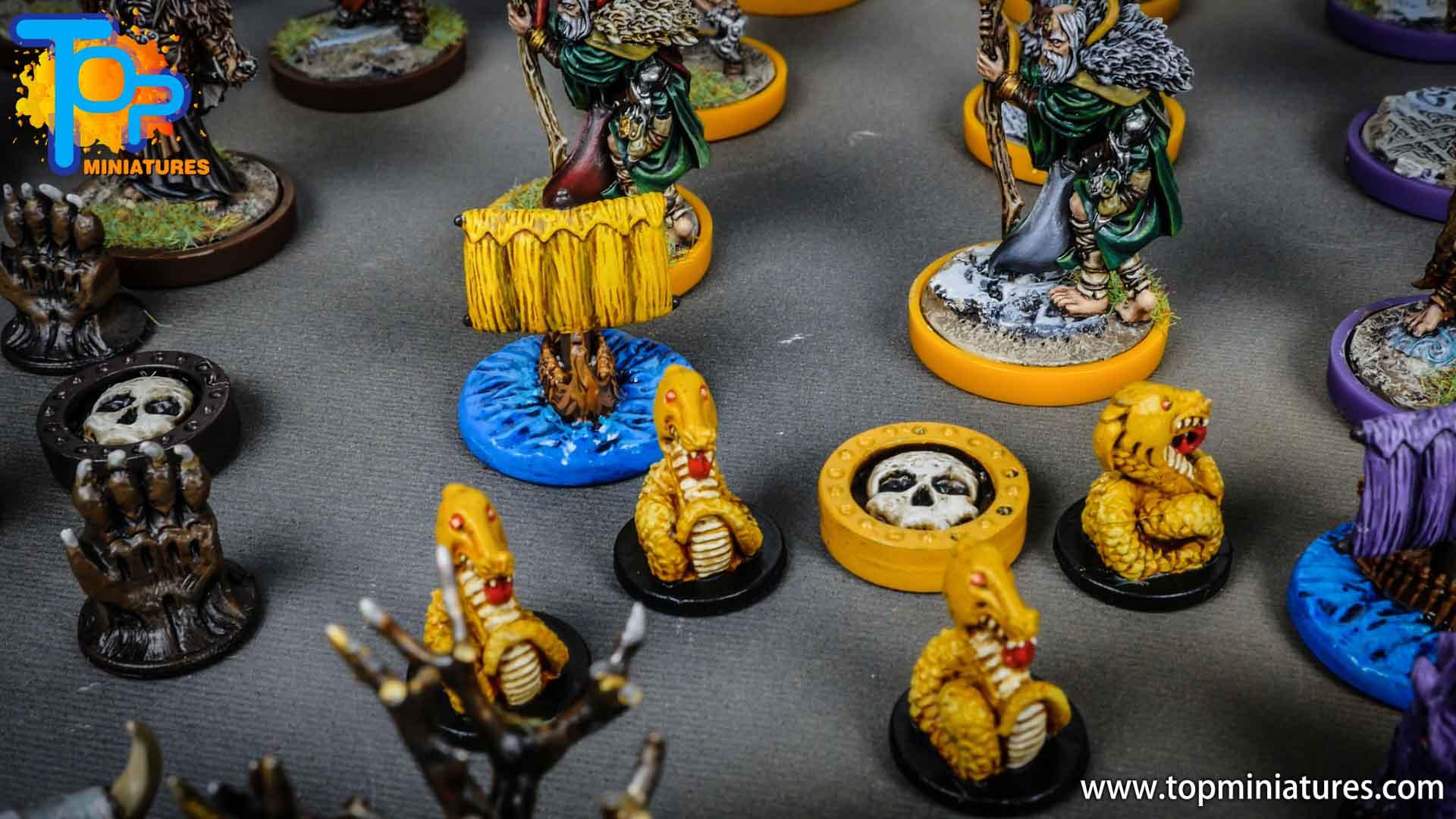 Blood rage painted serpent clan (2)