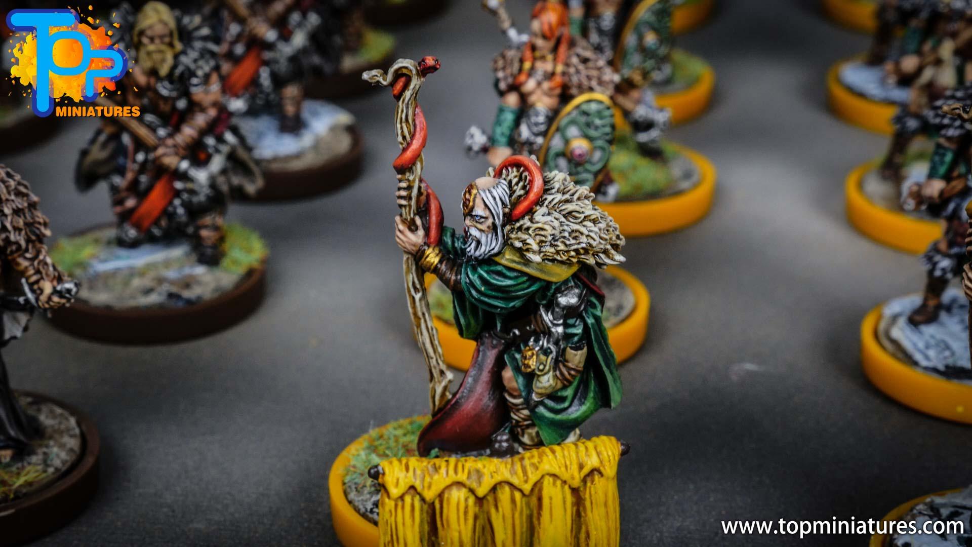 Blood rage painted serpent clan (4)