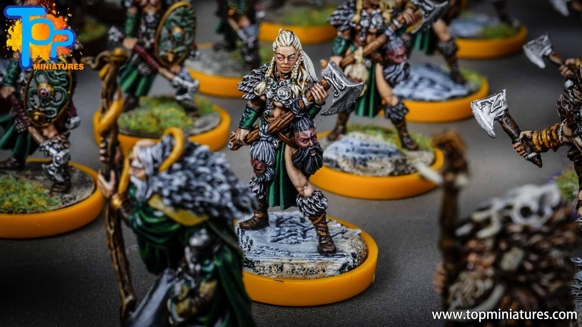 Blood rage painted serpent clan (6)
