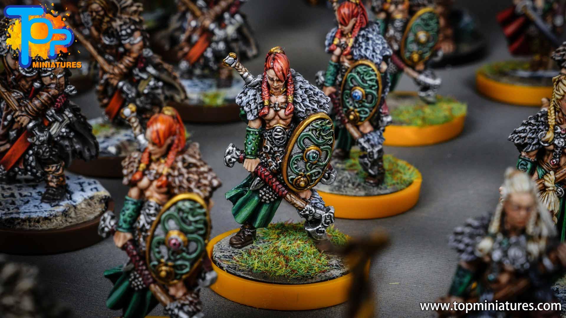 Blood rage painted serpent clan (7)