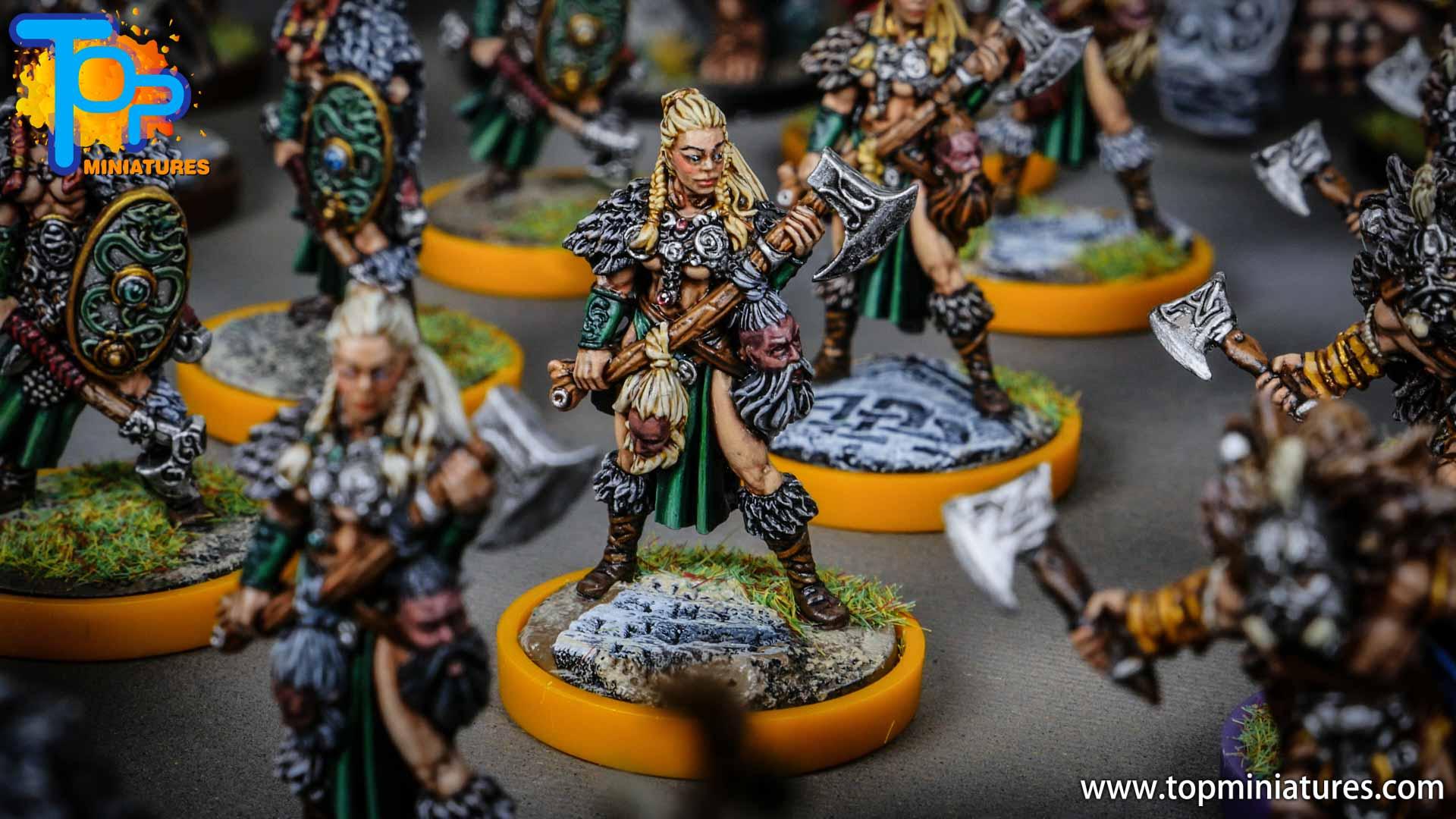 Blood rage painted serpent clan (8)