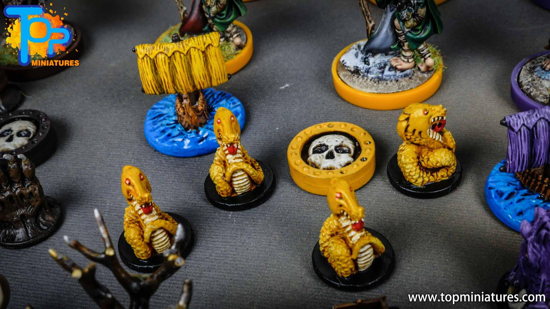 Blood rage painted serpent clan (9)