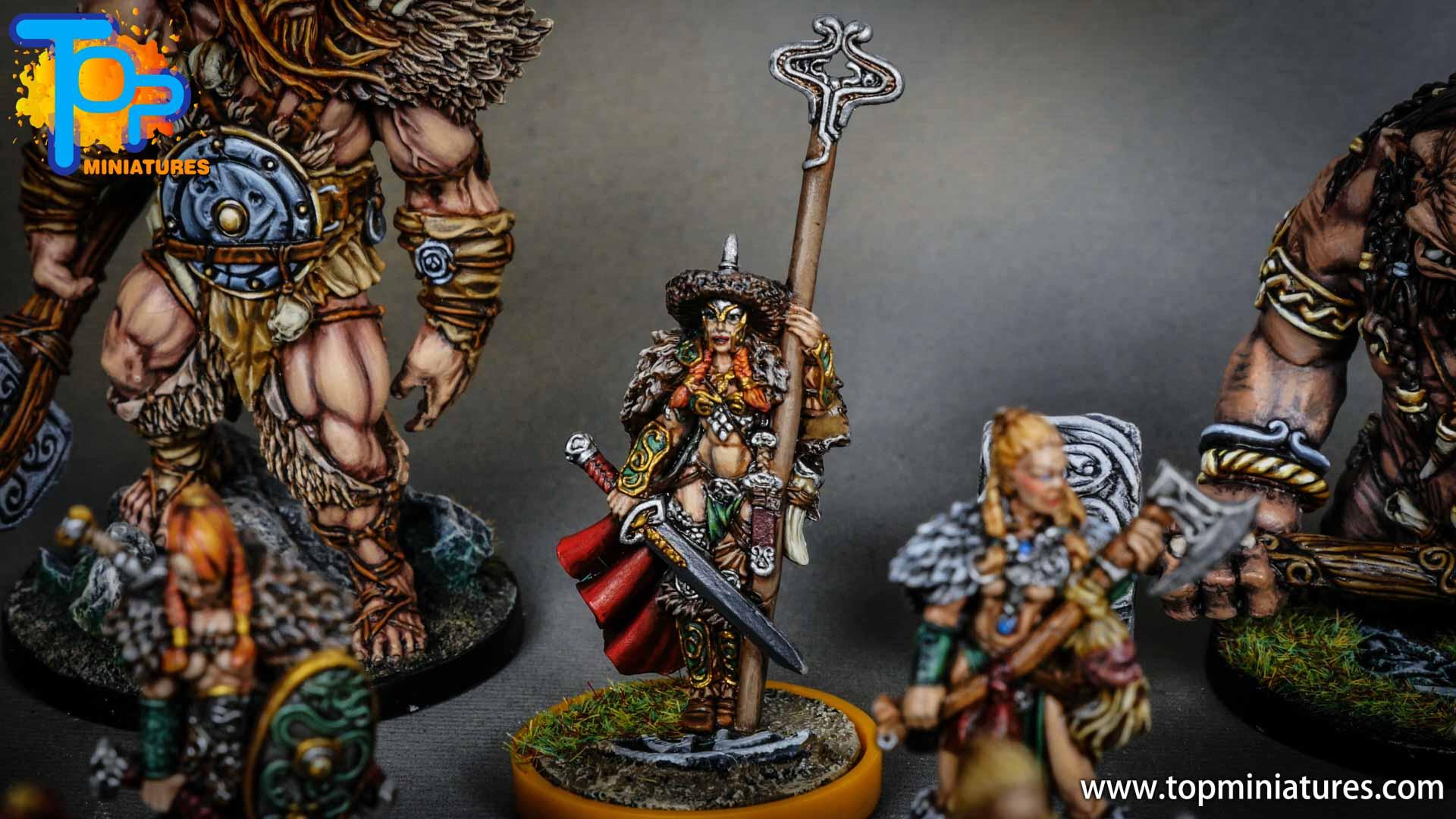 Blood rage painted serpent clan