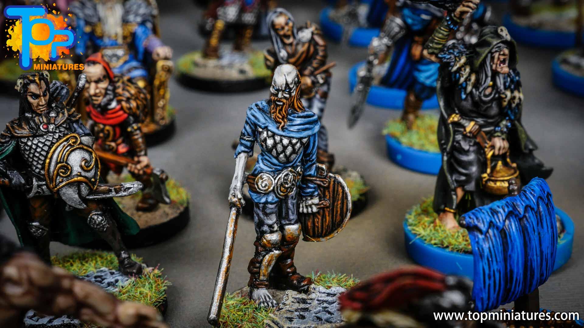 Blood rage painted soldier of hel