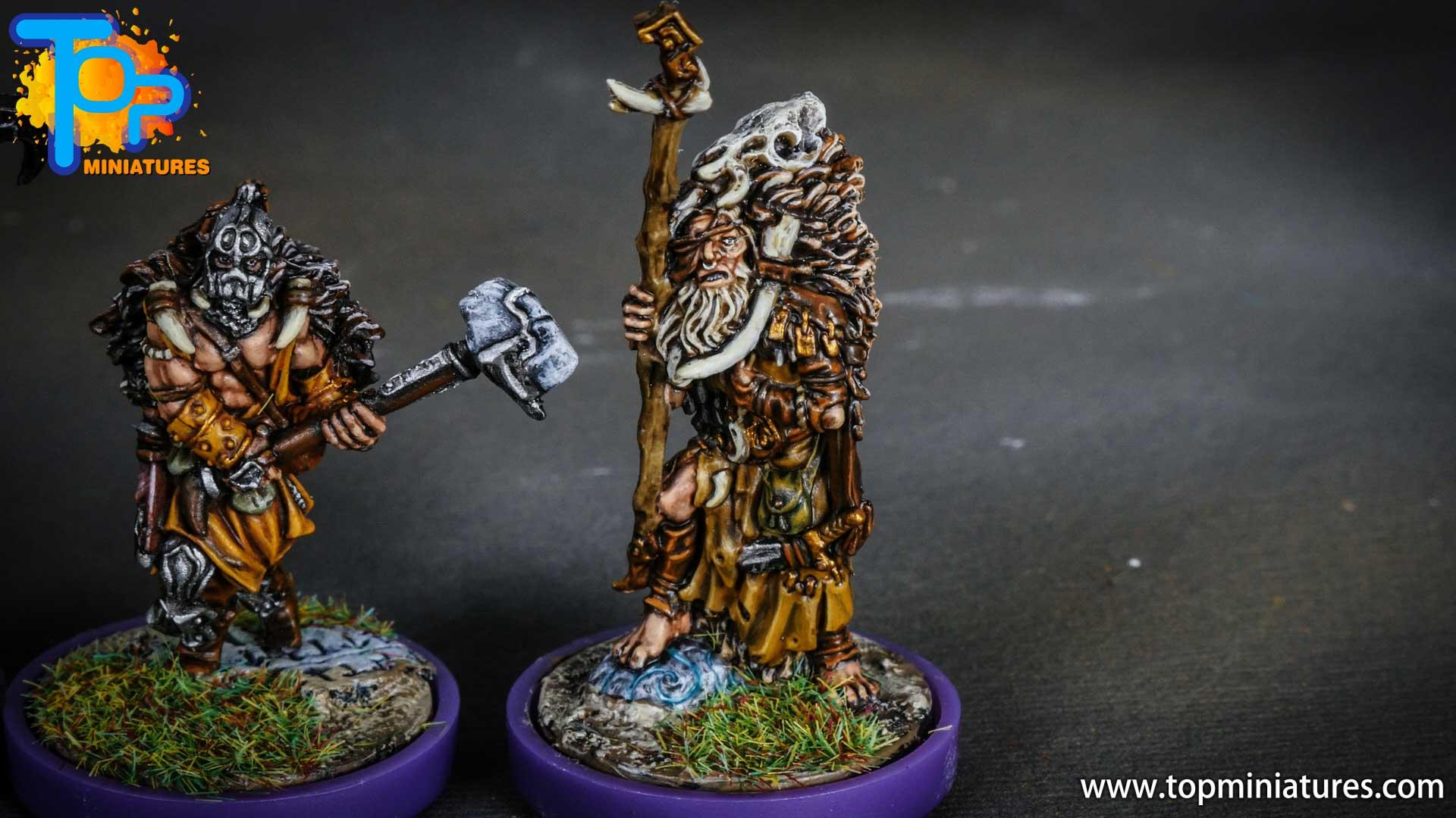 Blood rage painted wildboar clan (10)