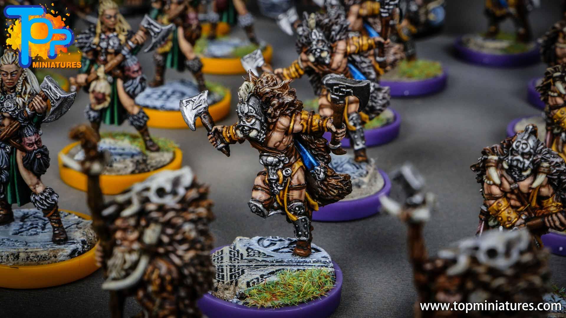Blood rage painted wildboar clan (4)