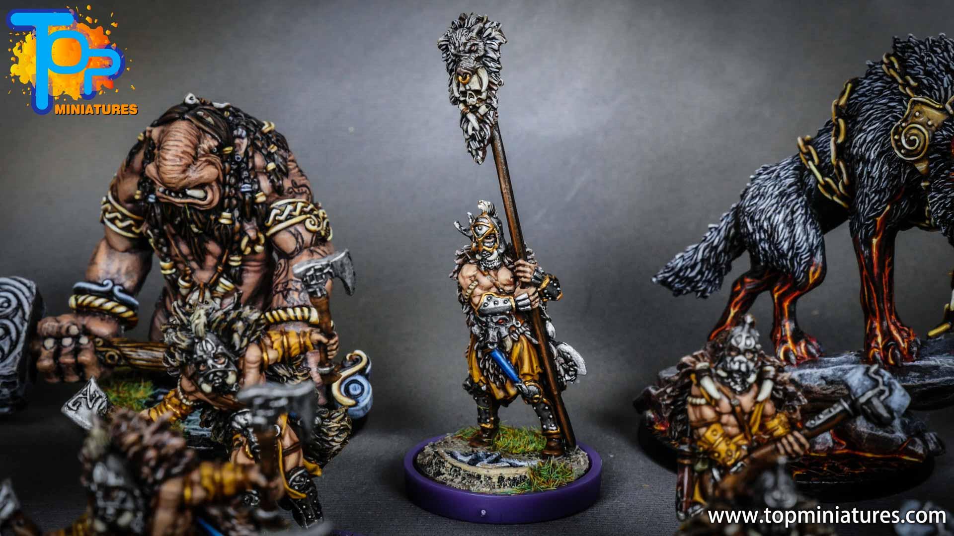 Blood rage painted wildboar clan (5)
