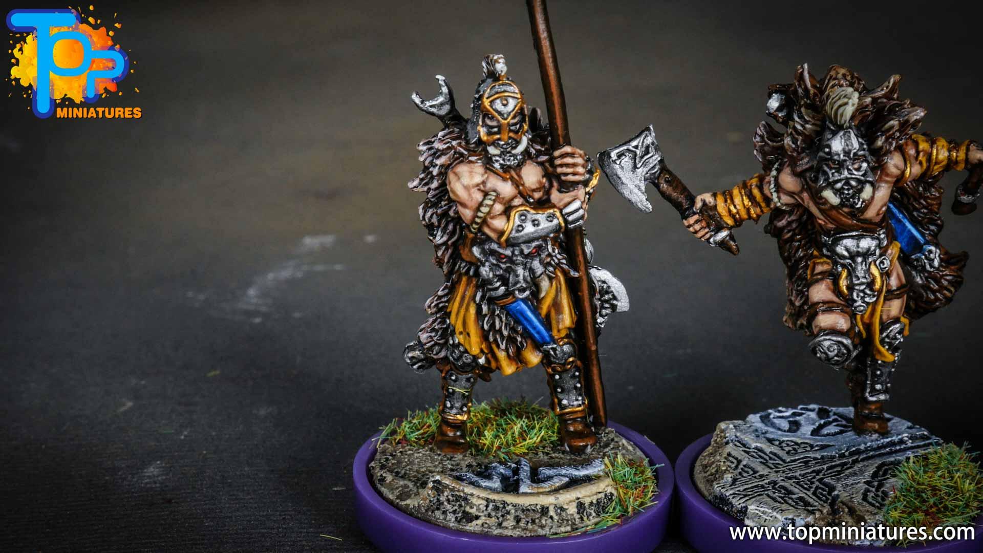 Blood rage painted wildboar clan (7)