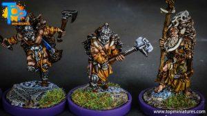 Blood rage painted wildboar clan (9)