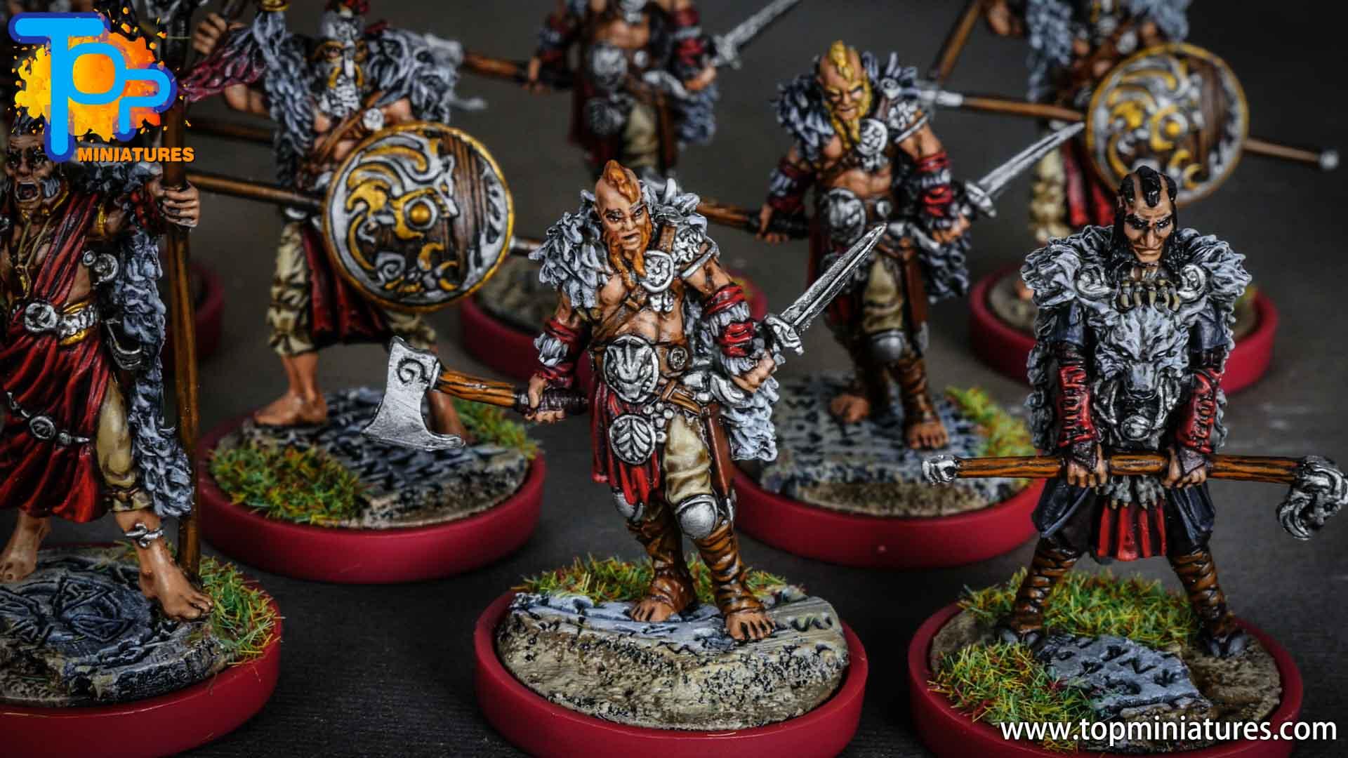 Blood rage painted wolf clan (10)