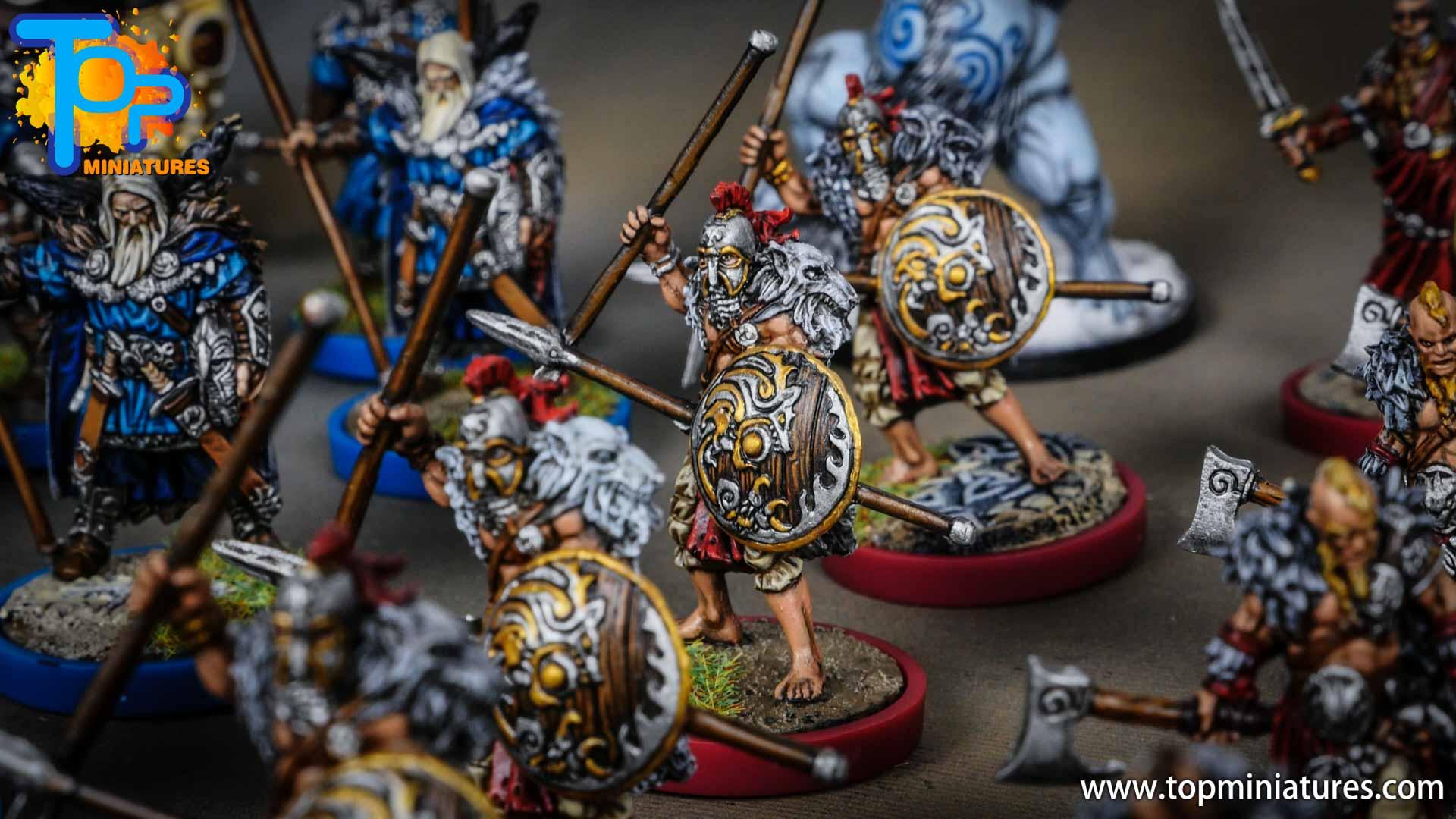 Blood rage painted wolf clan (6)