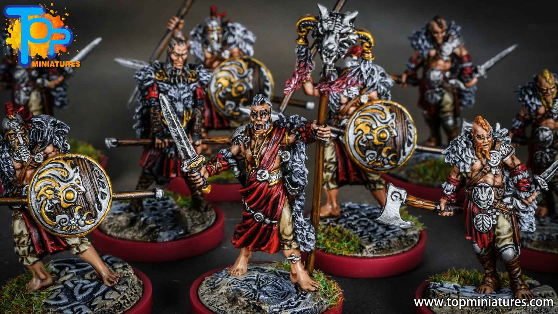 Blood rage painted wolf clan (8)