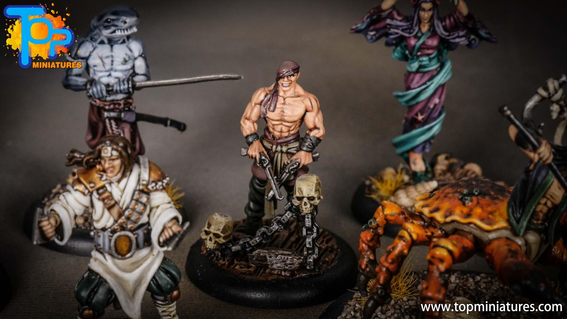 Bushido pirates painted duri