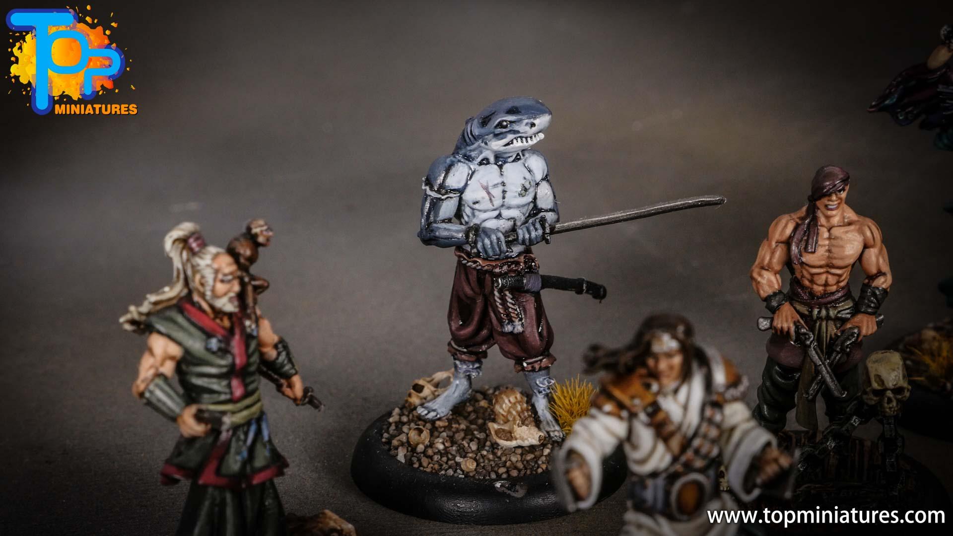 Bushido pirates painted ryota