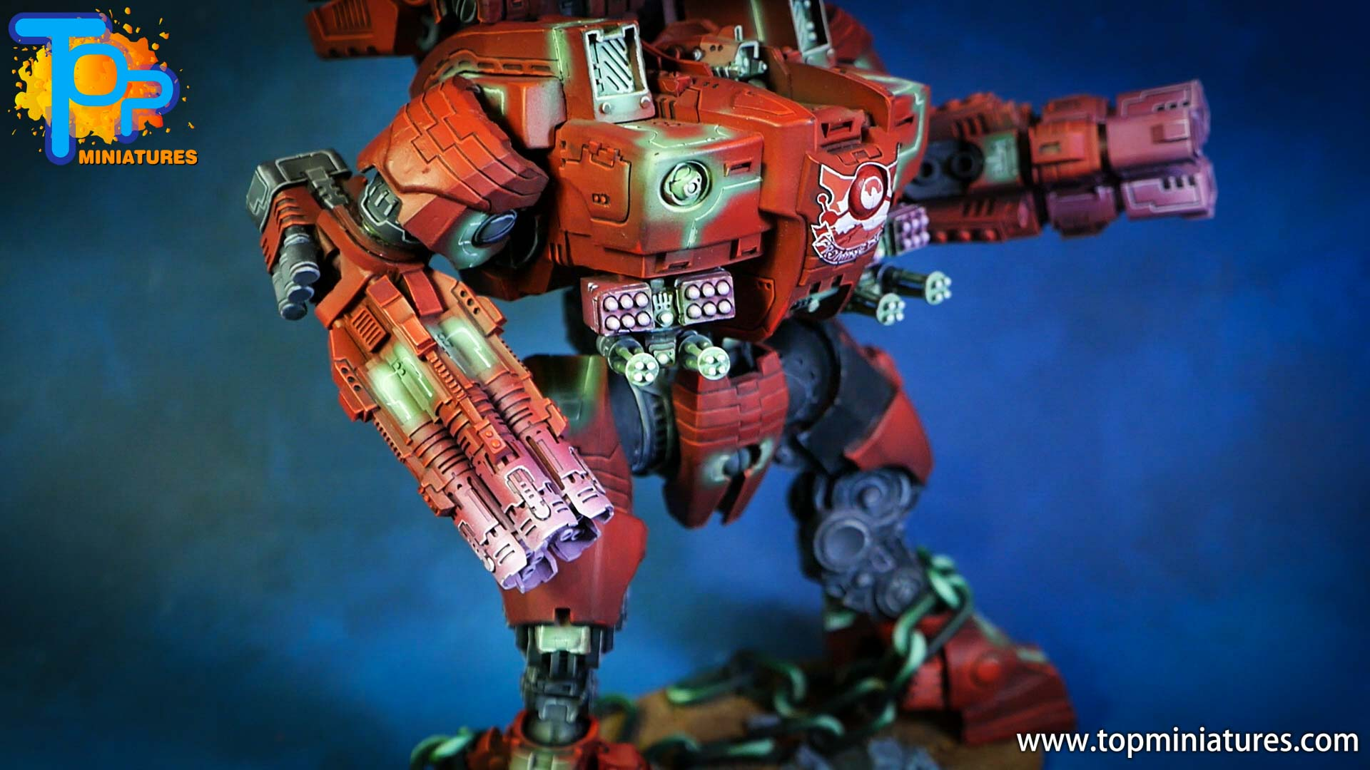 KX139 Ta'unar Supremacy Armour painted (7)