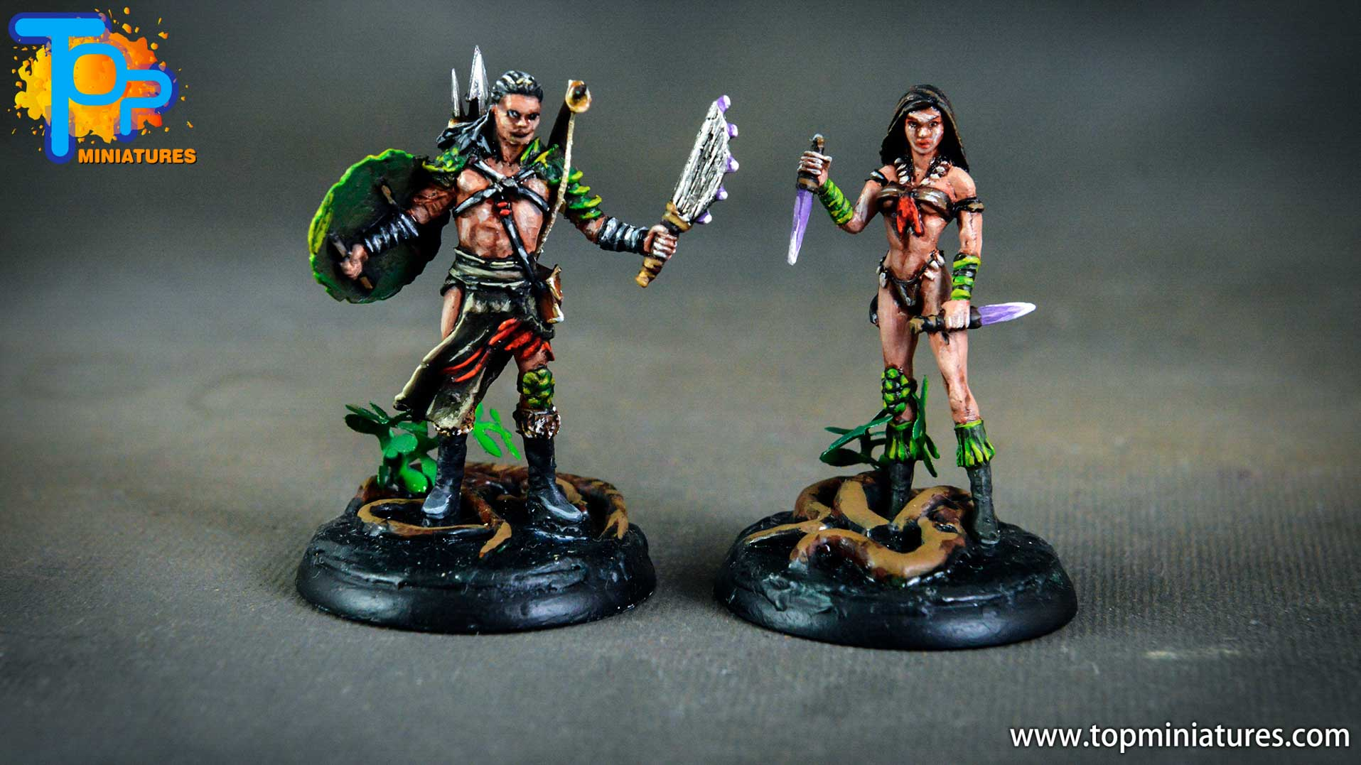 Shadows of Brimstone native male & female (1)