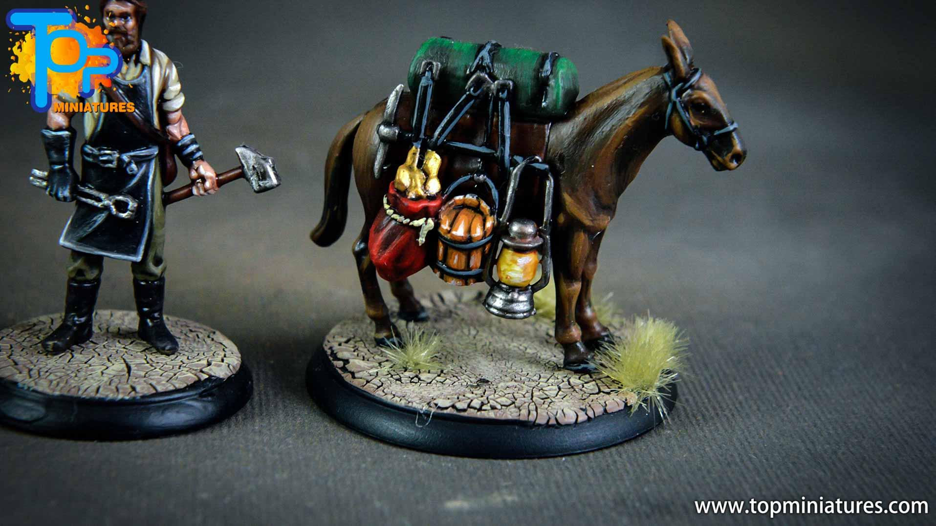 Shadows of Brimstone pack mule