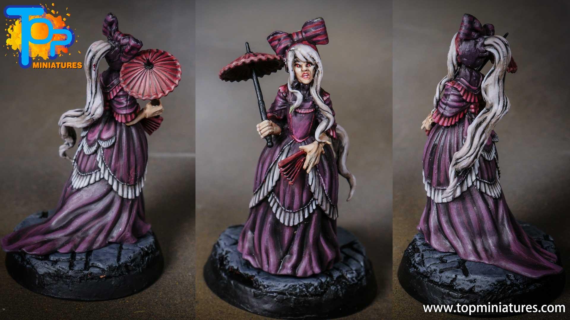 Shalltear bloodfallen overlord miniature conversion