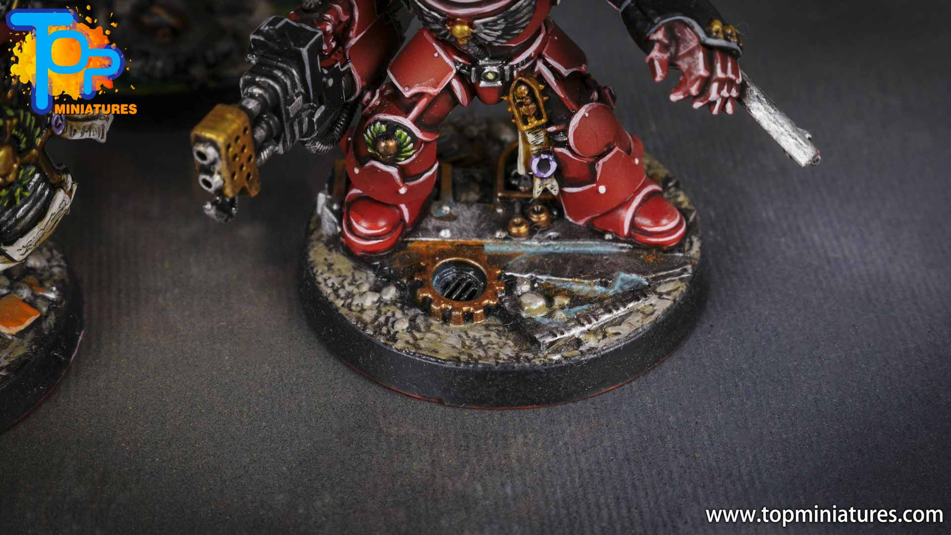 Space Marine Heroes - Blood Angels Terminators (1)