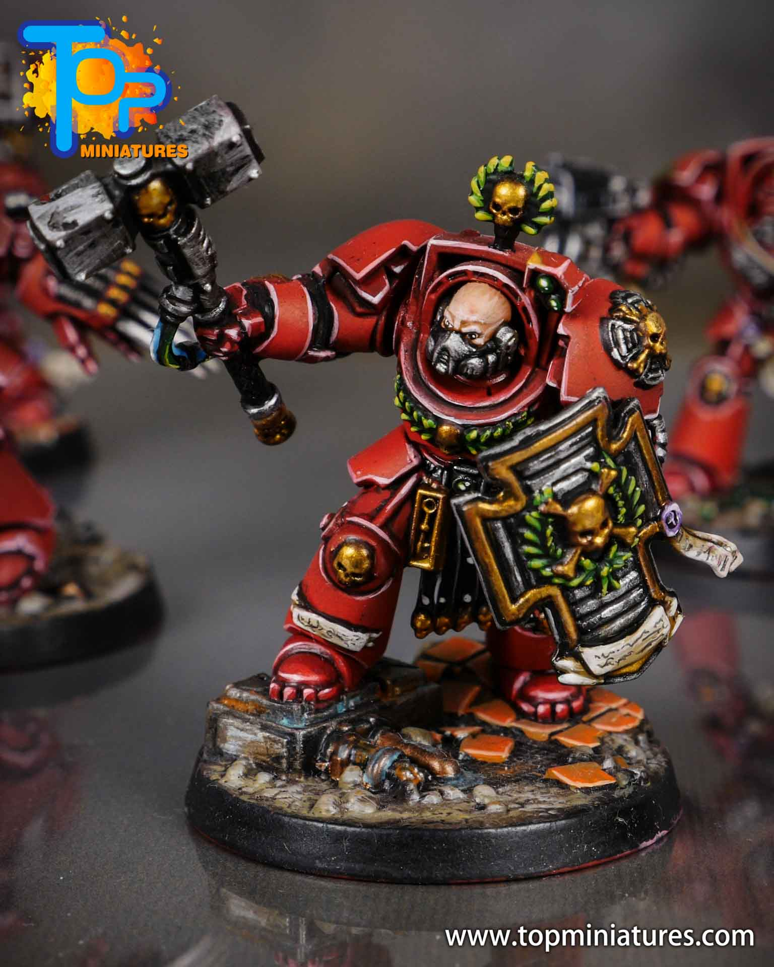 Space Marine Heroes - Blood Angels Terminators (10)