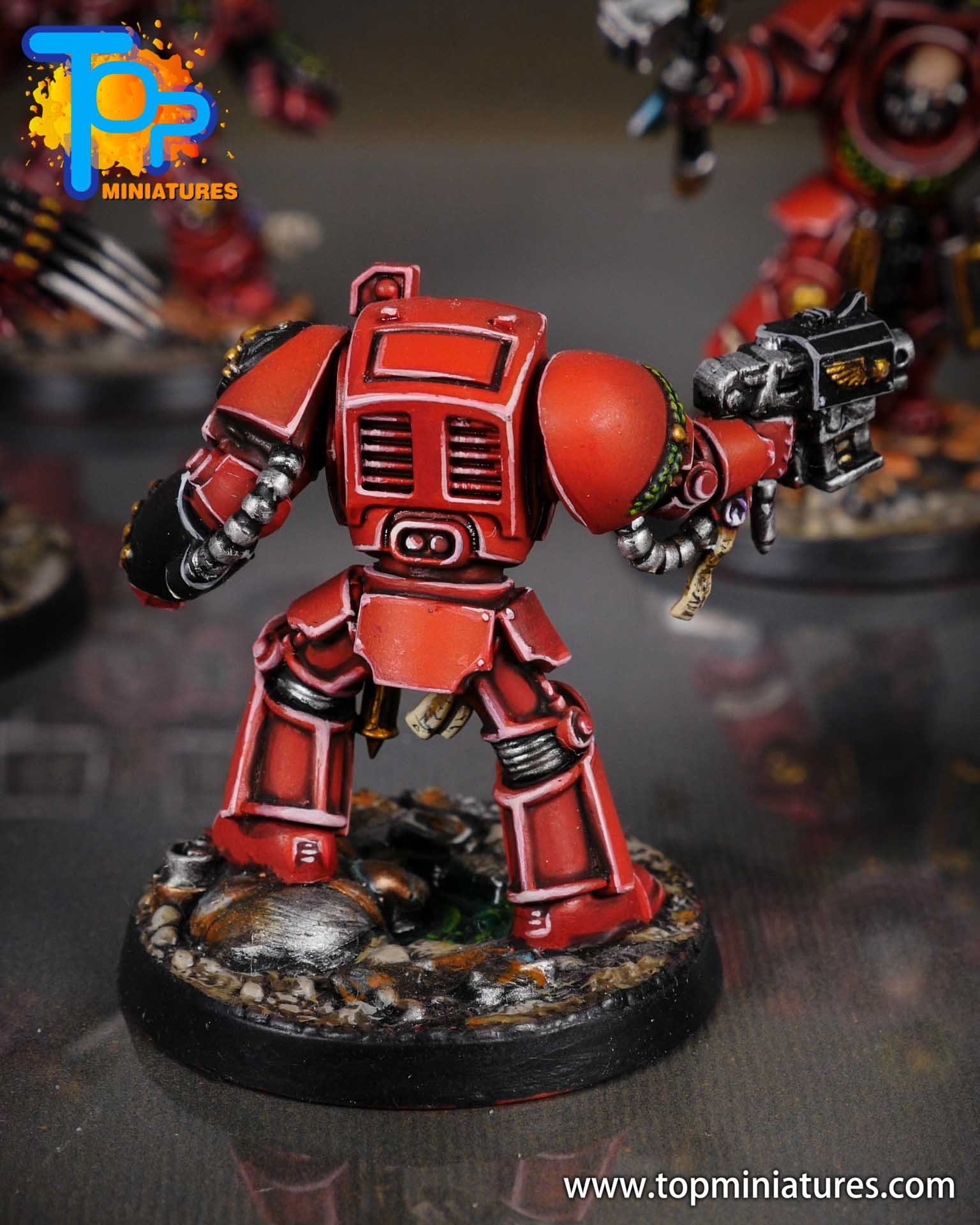Space Marine Heroes - Blood Angels Terminators (13)
