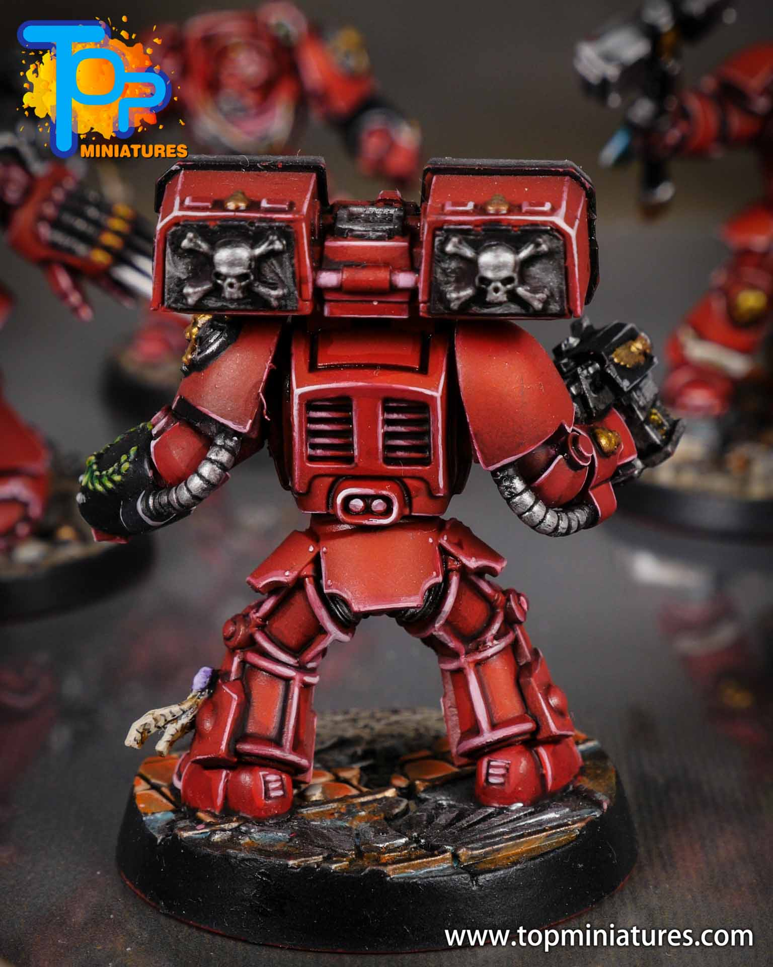 Space Marine Heroes - Blood Angels Terminators (15)