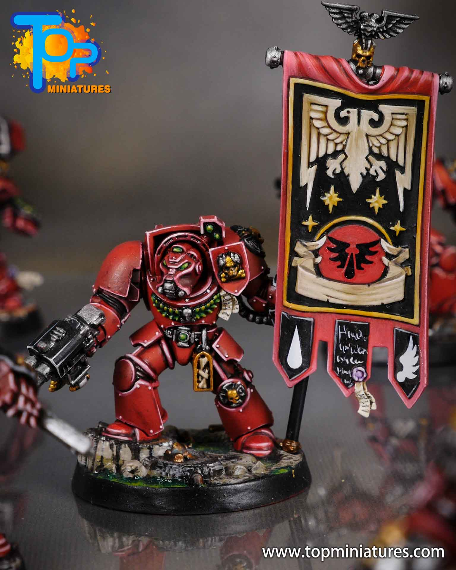 Space Marine Heroes - Blood Angels Terminators (2)