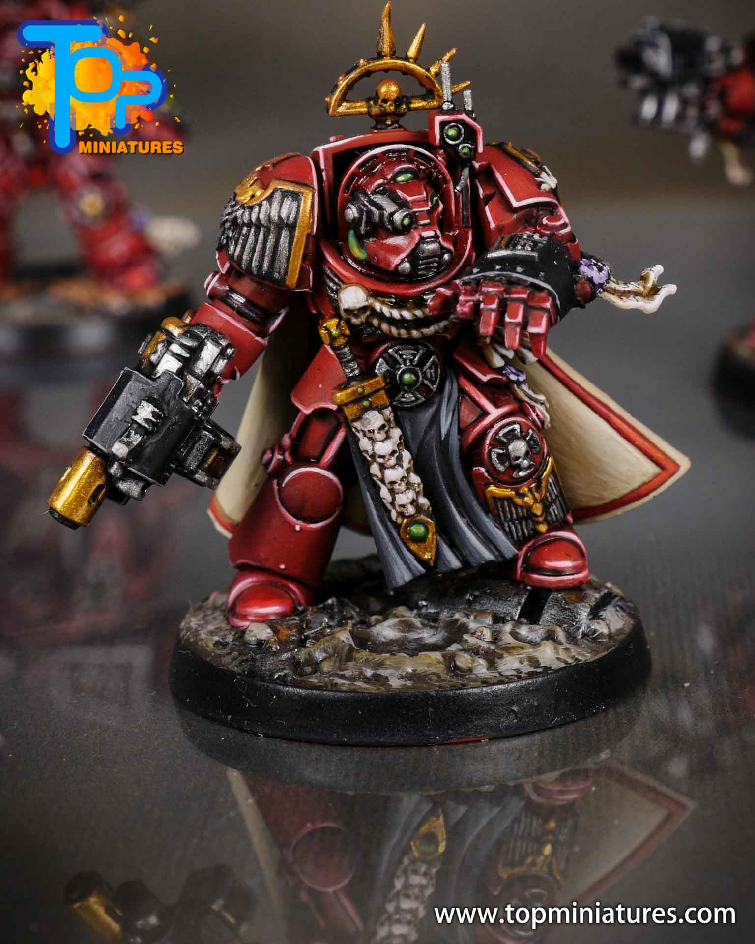 Space Marine Heroes - Blood Angels Terminators (3)