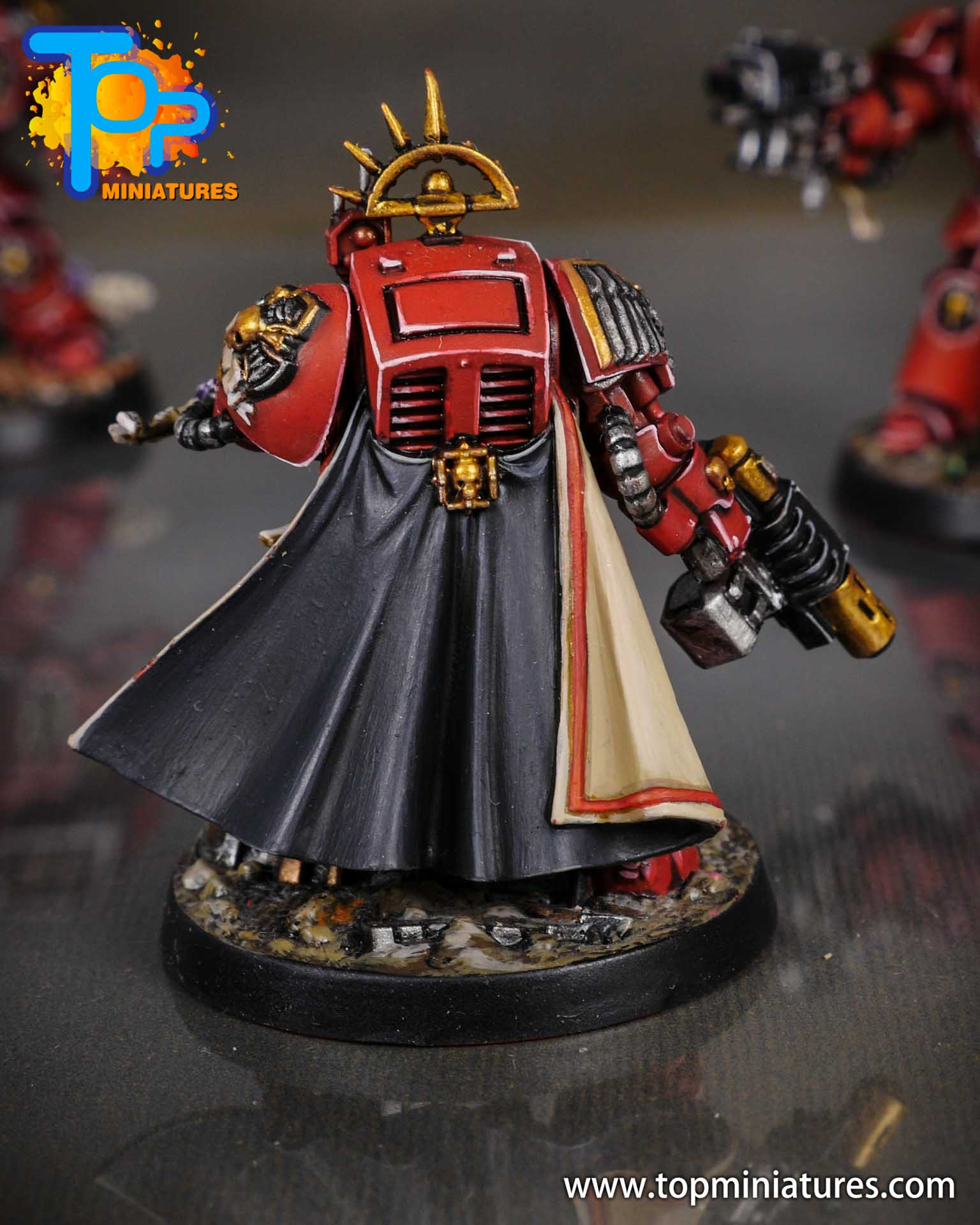 Space Marine Heroes - Blood Angels Terminators (4)
